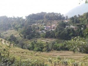 The beautiful surroundings of rural Pokhara.