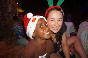 I spent Christmas Eve singing carols with this cheeky guy and his friends and family.