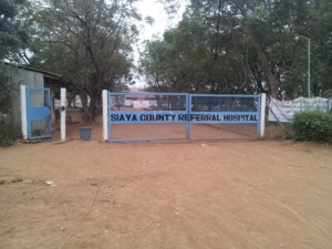Siaya County referral hospital